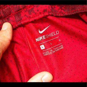 NIKE men's red runners